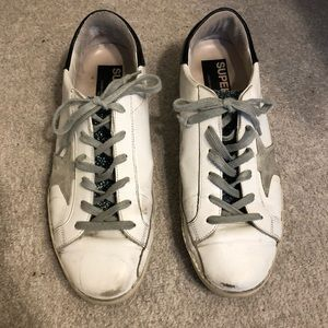 Golden Goose sneakers with Swarovski crystals